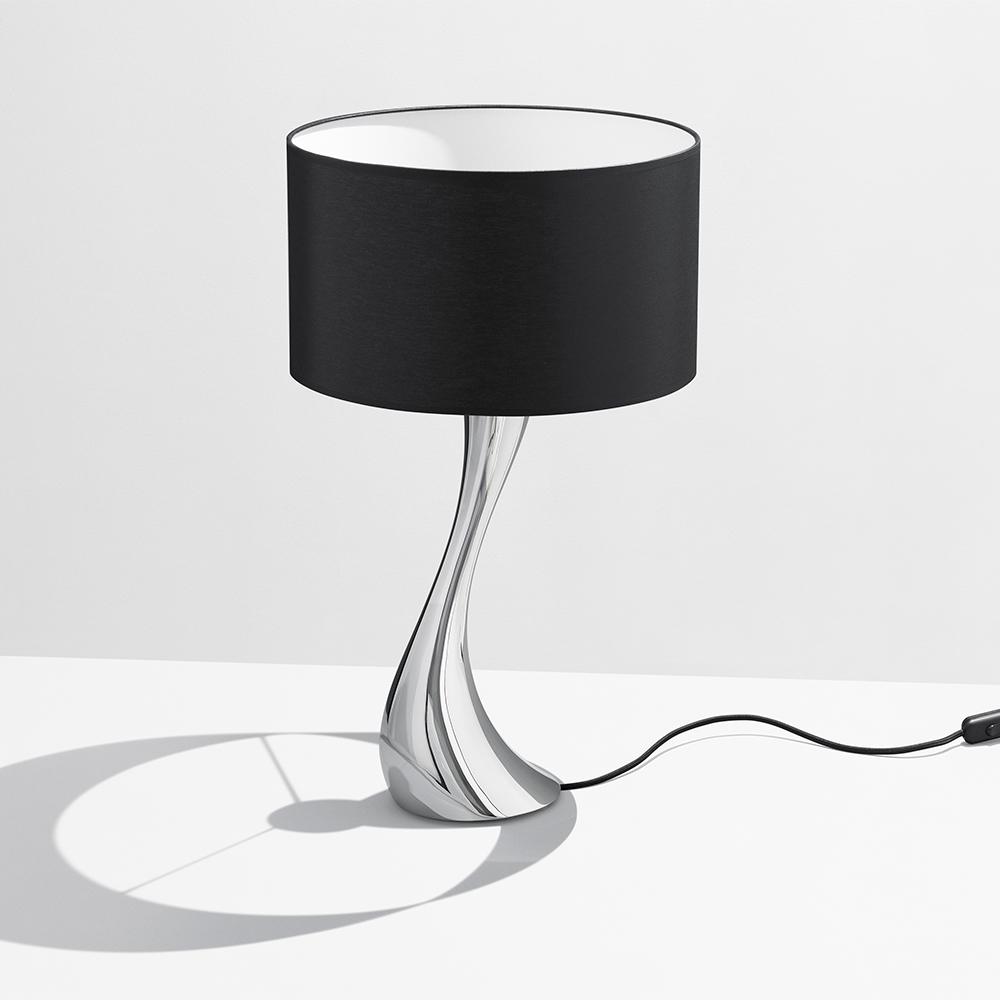 Lækker Cobra Bordlampe 47 cm, Sort - Georg Jensen @ RoyalDesign.no HE-42