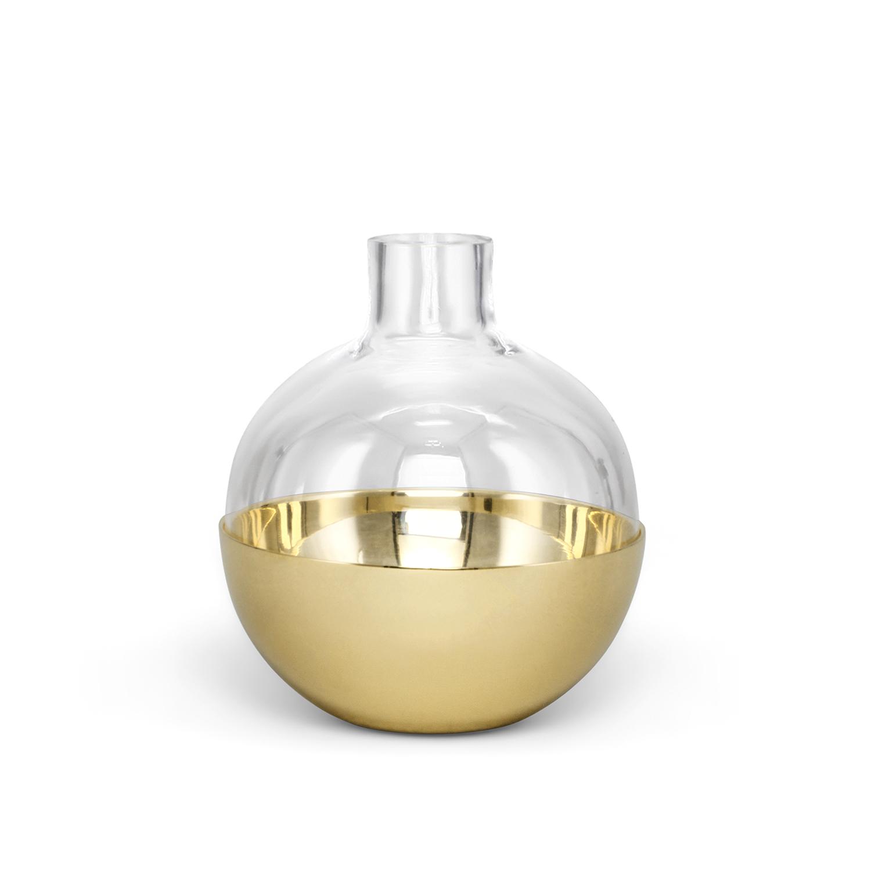 Pomme - Liten Mässing/Glas