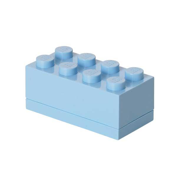 Lego Mini Box 8, Ljusblå