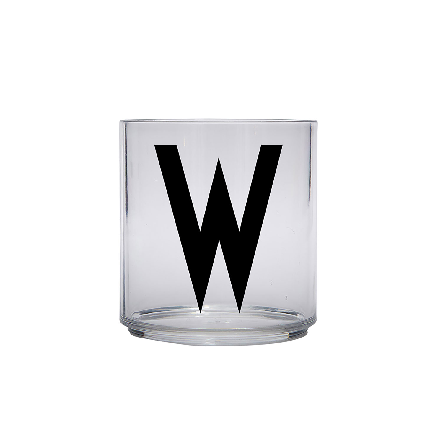 Design Letters-Kids Personal Drinking Glass, W