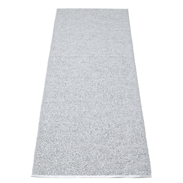 Pappelina-Svea Gulvtæppe 70x90 cm, Metallic Grey/Grey