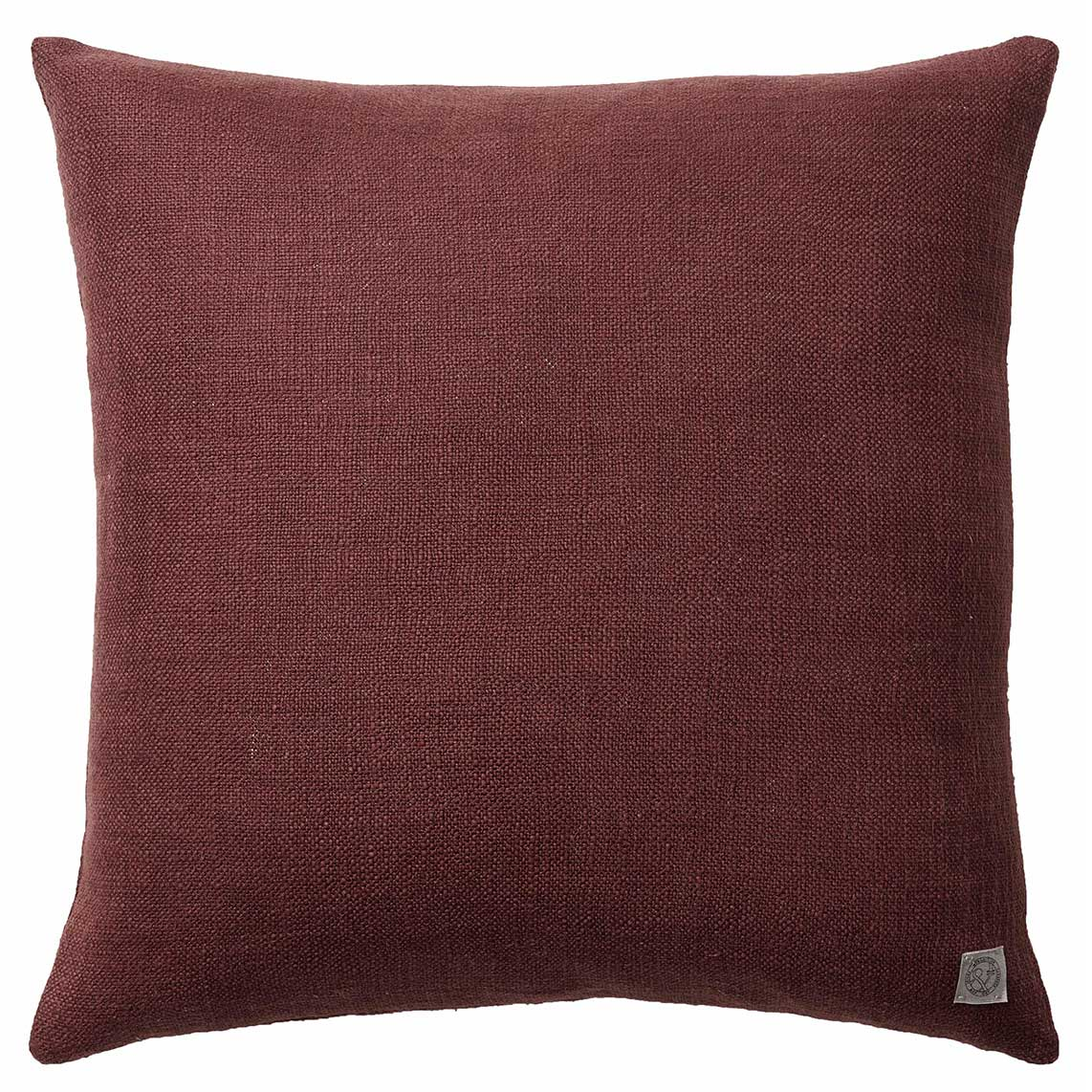 &Tradition-Collect Pude SC28 50x50, Burgundy/Heavy Linen