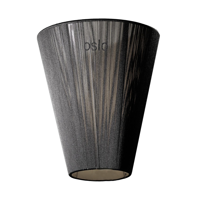 Oslo Wood Lampskärm, Black