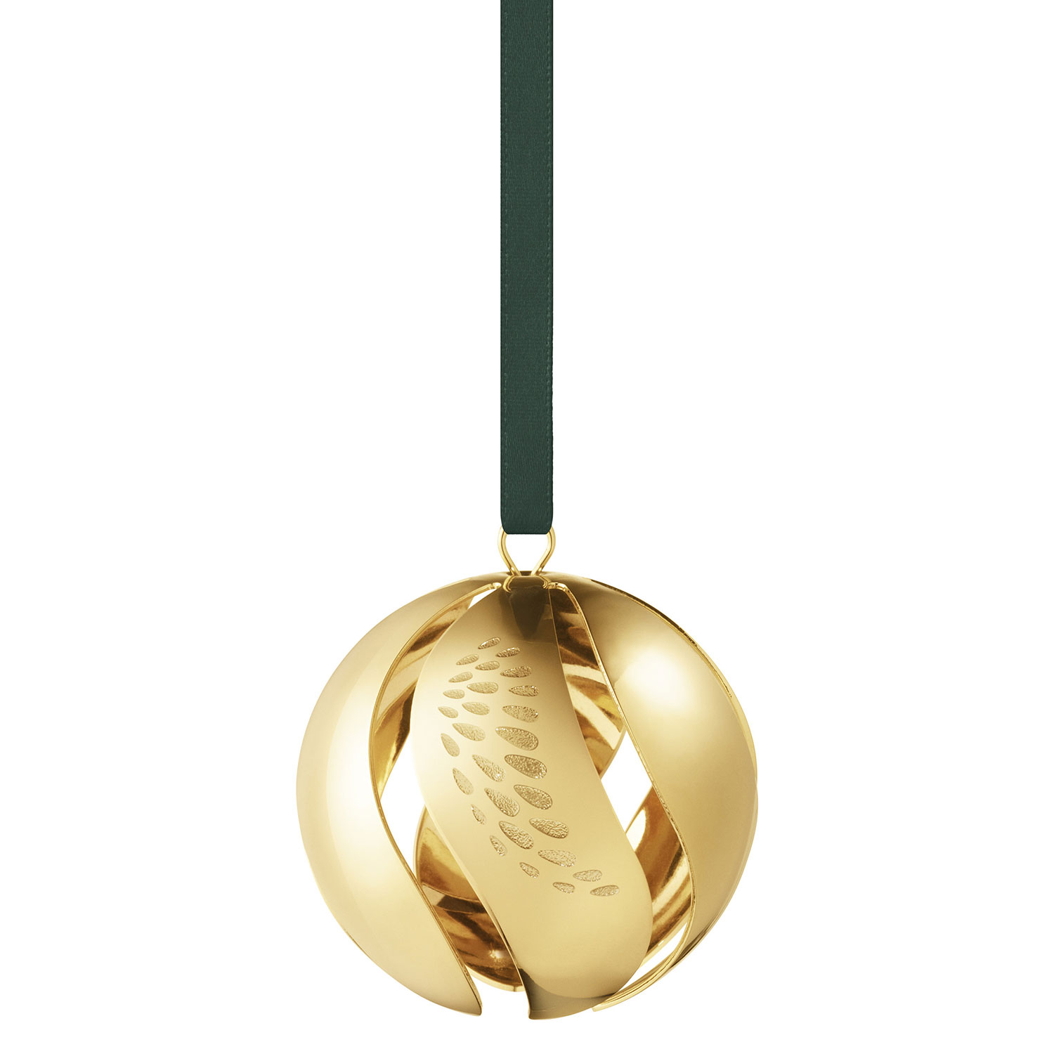 Christmas Bauble 2018 Gold