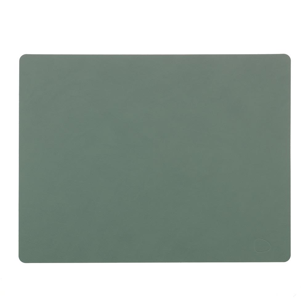 Lind DNA Square L Bordstablett Nupo, 35x45 cm, Pastellgrön