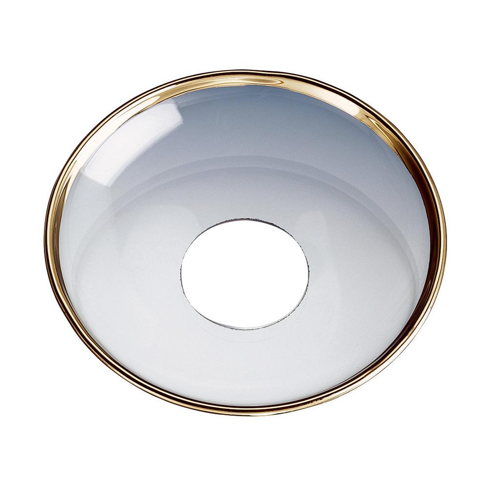 Ljusmanschett Ø 8 cm, Guldkant