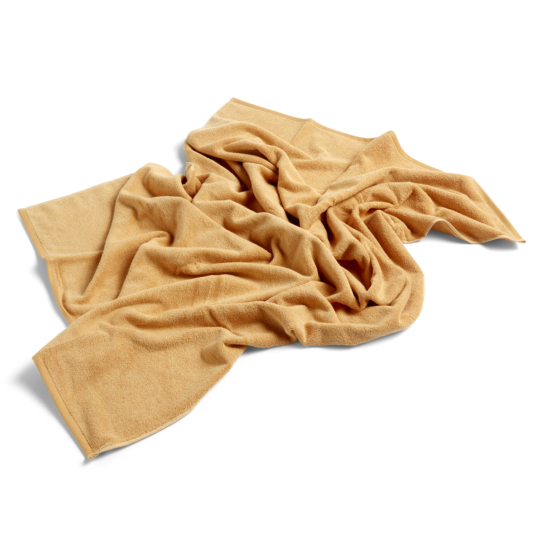 Hay-Frotté Bath Towel, Warm Yellow
