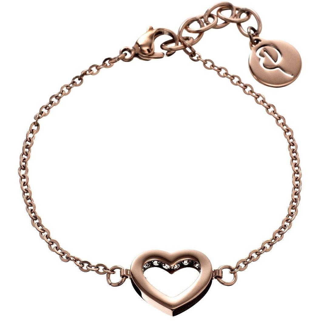 Edblad-Monaco Heart Thin Armband, Rose Gold