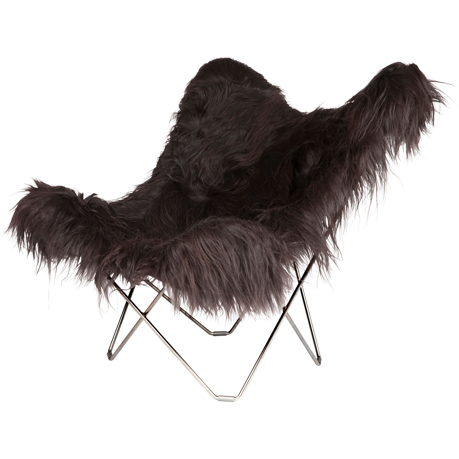 Iceland Mariposa Butterfly Chair, Wild Black/Ch...