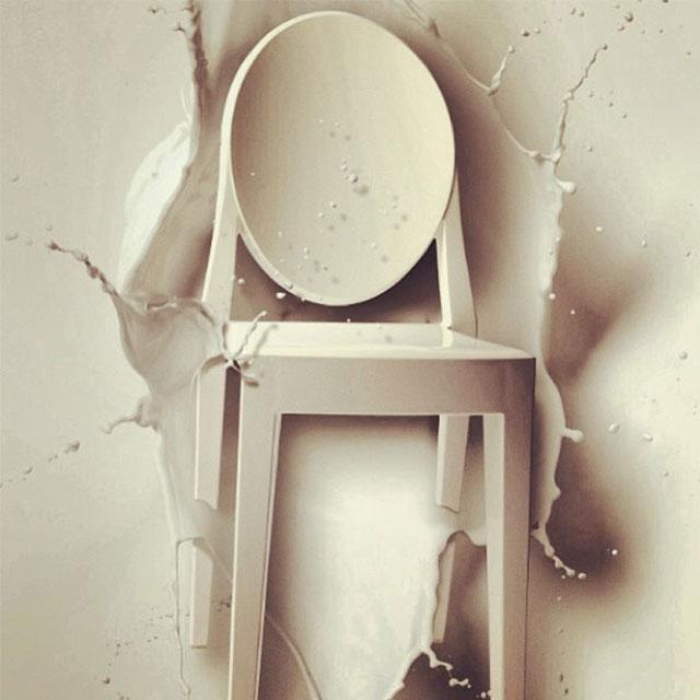 Victoria Ghost Stol, Krystal Kartell @ Rum21.dk