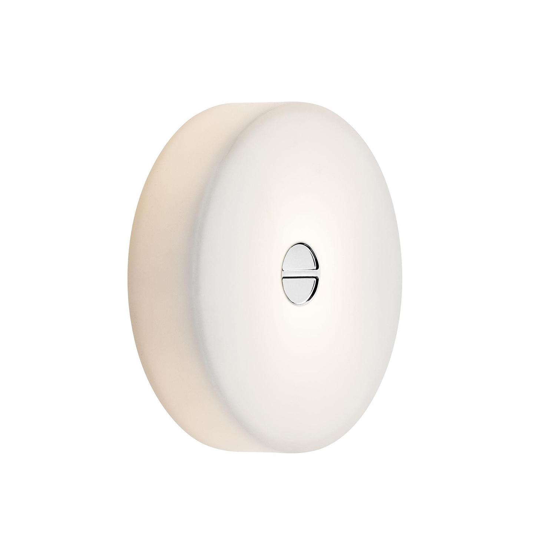 Mini Button Tak/Vägglampa, Polykarbonat