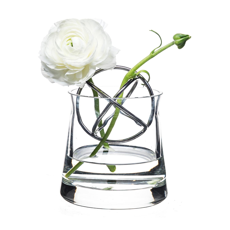 Born In Sweden-Sphere Vase Lille, Rustfritt Stål