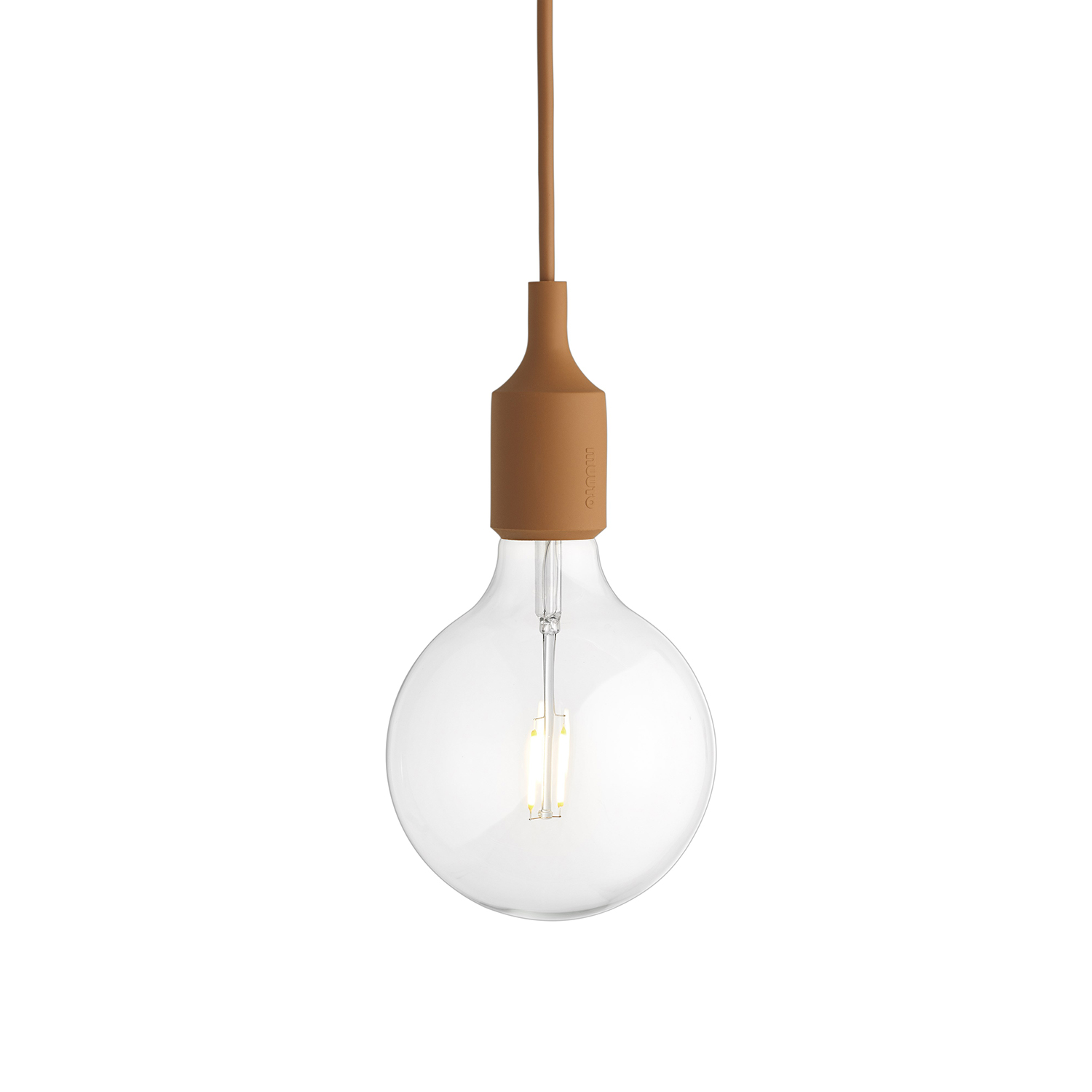 Bilde av Muuto-E27 Taklampe, Clay Brown