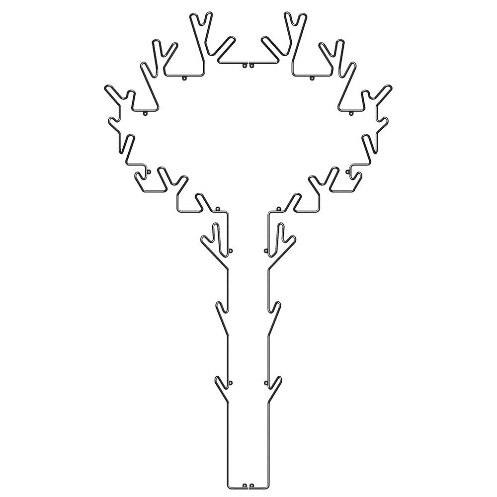 Tree Klädhängare, Svart