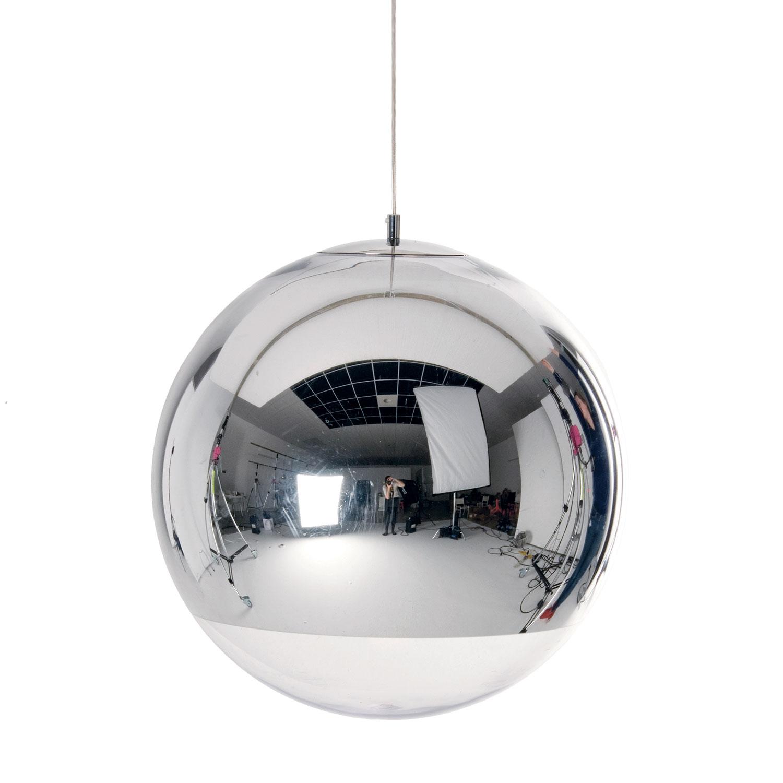 Bilde av Tom Dixon-Mirror Ball Deckenleuchte 50cm, Krom