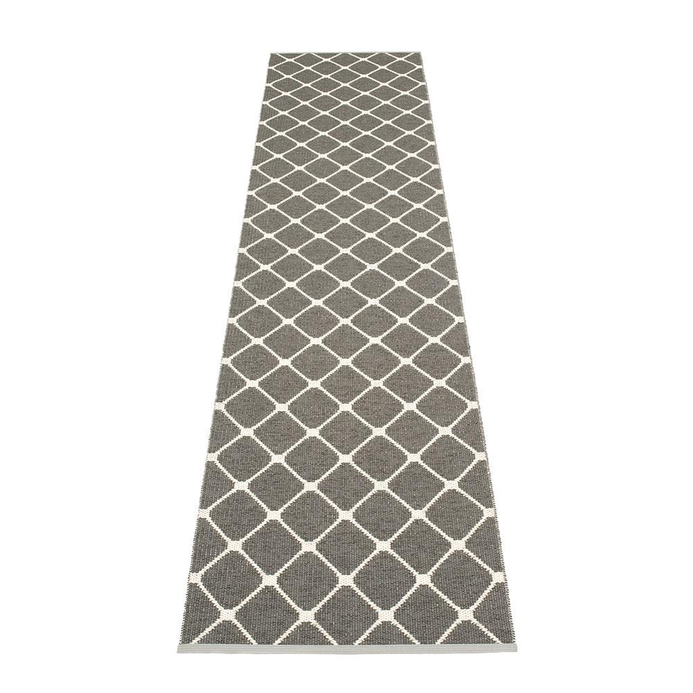 Rex Matta 70x335 cm, Charcoal/Vanilla