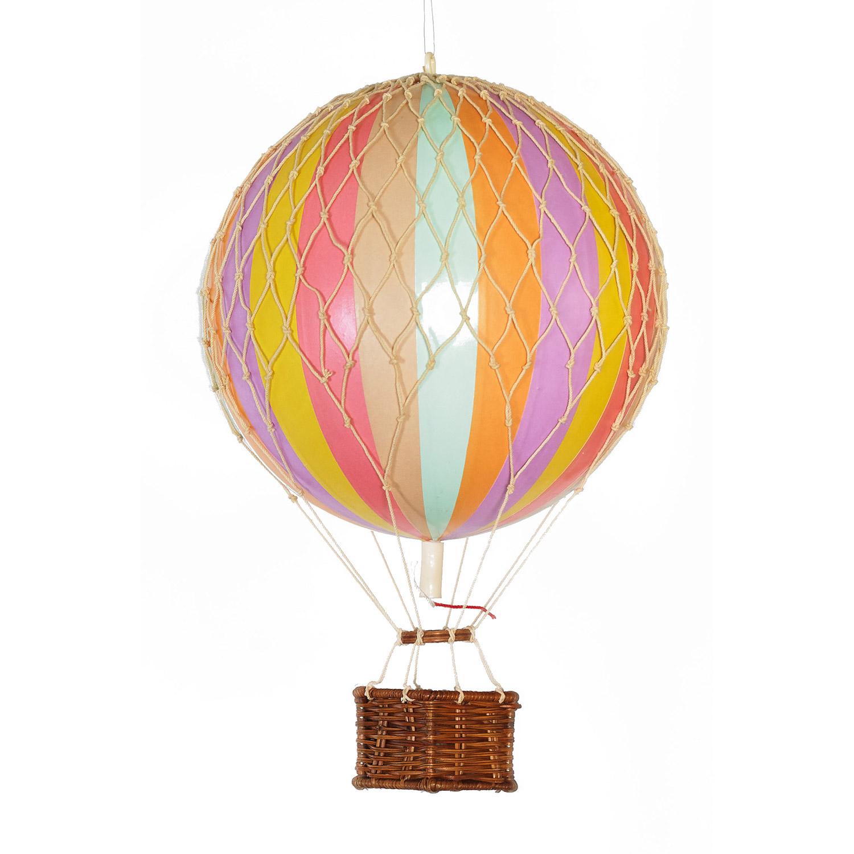 Floating The Skies Luftballong, Regnbåge Pastell