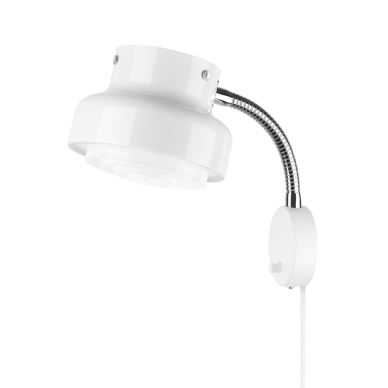 Bumling Mini Vägglampa, Vit