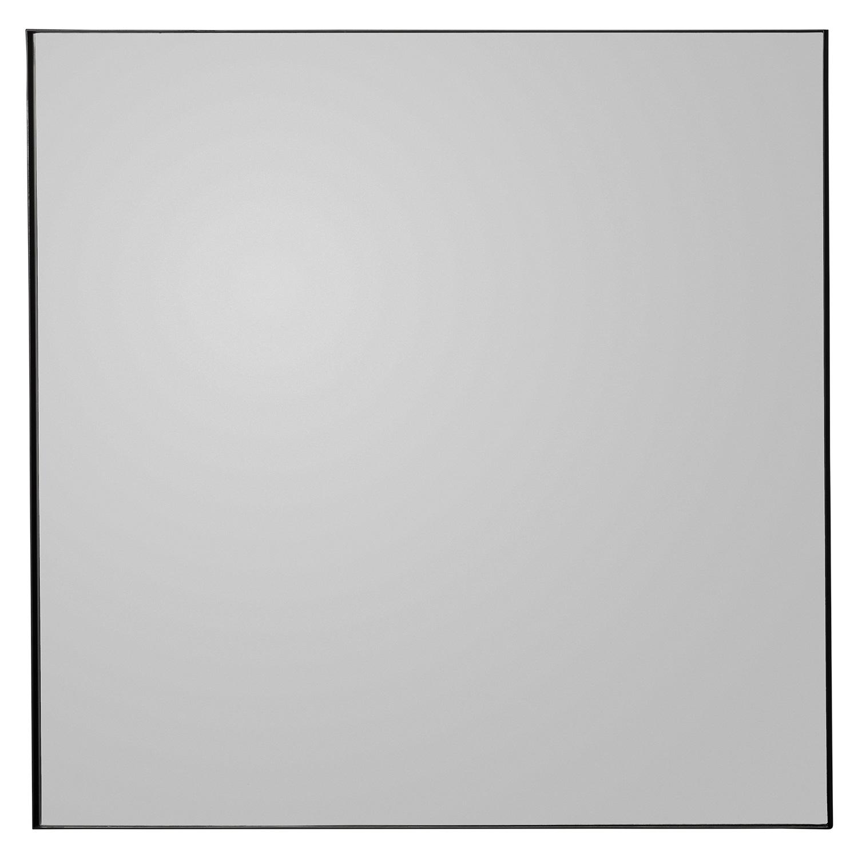 Quadro Spegel 90x90 cm, Svart/Svart tonad