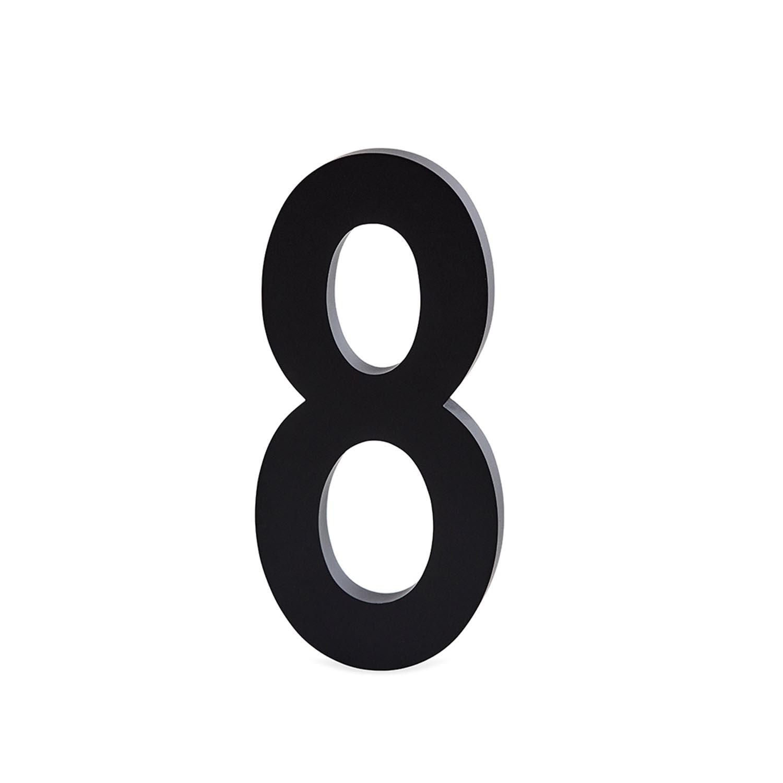 Design Letters, Nummer I Aluminium 50mm, 8