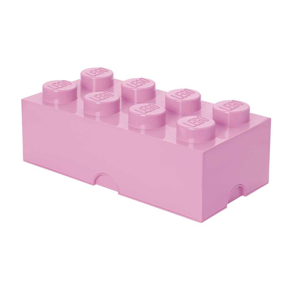 Lego Förvaringslåda 8, Ljuslila