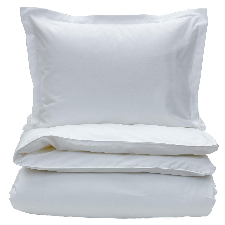 Sateen Påslakan 220x220 cm, White