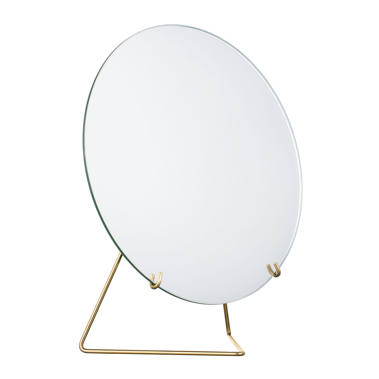 Bilde av MOEBE-Mirror Bordspeil Ø30, Messing