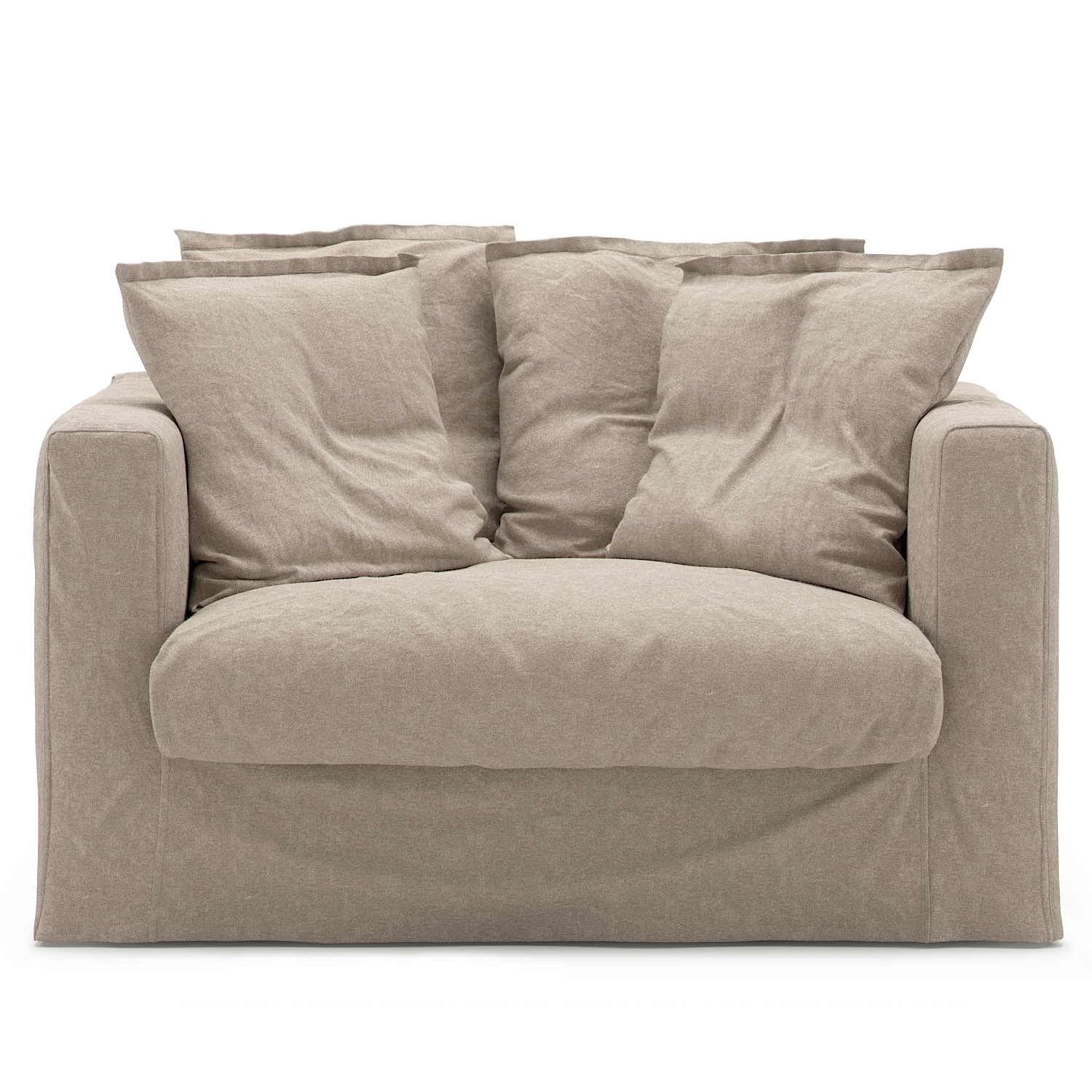 Le Grand Air Loveseat Linne, Savage Linen