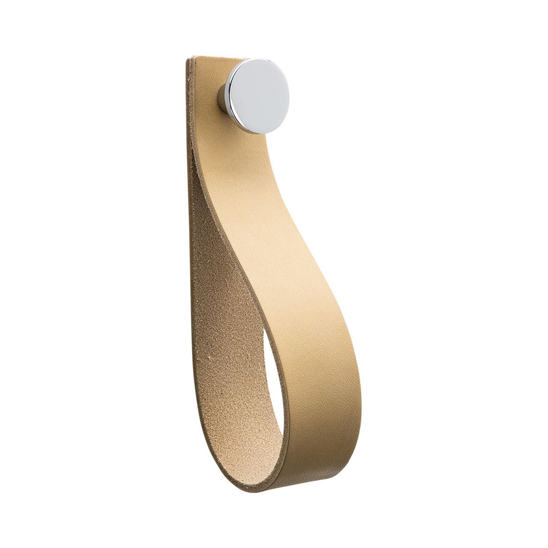 Beslag Design Tidan Krok, Borstad Krom