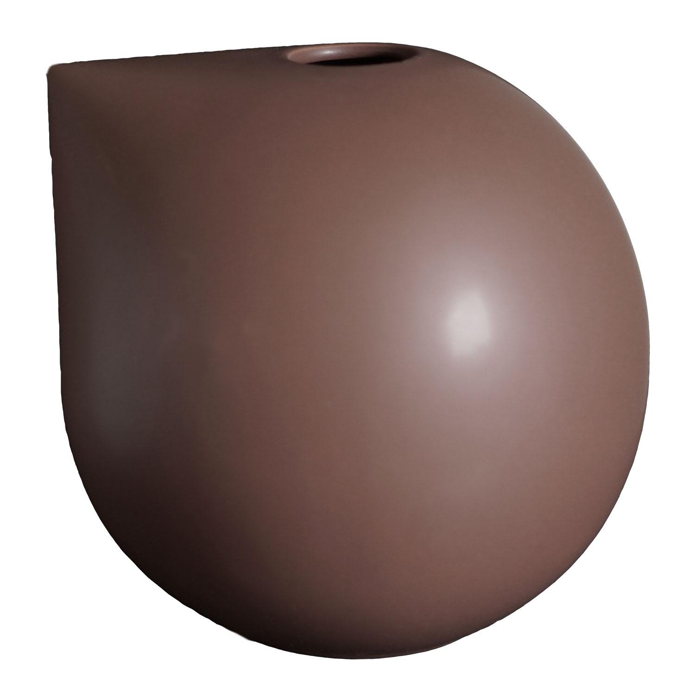 DBKD-Nib Vase Large, Maroon