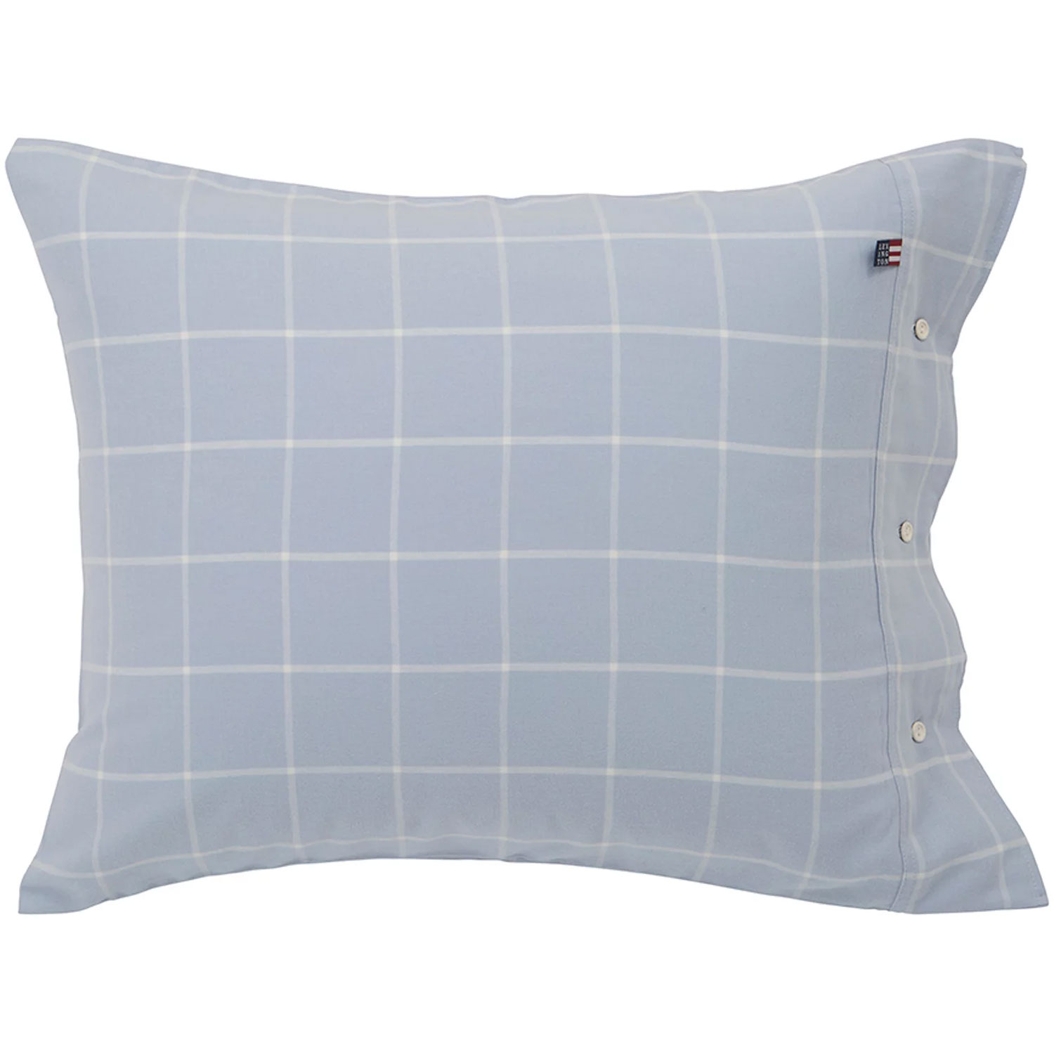 Bilde av Lexington-Hotel Light Flannel Pillowcase 50x60 cm, Light Blue/White