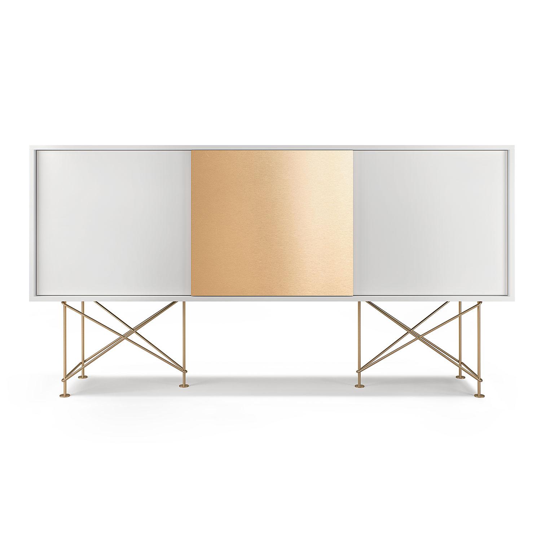 Vogue sideboard 180 en lucka m ssing stativ decotique for Sideboard design outlet