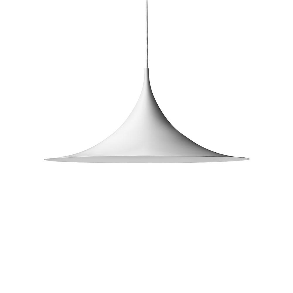 Gubi-Semi Loftslampe Ø60cm, Hvid