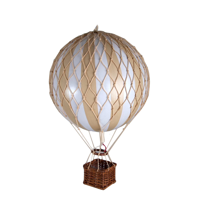 Travels Light Luftballong, White Ivory