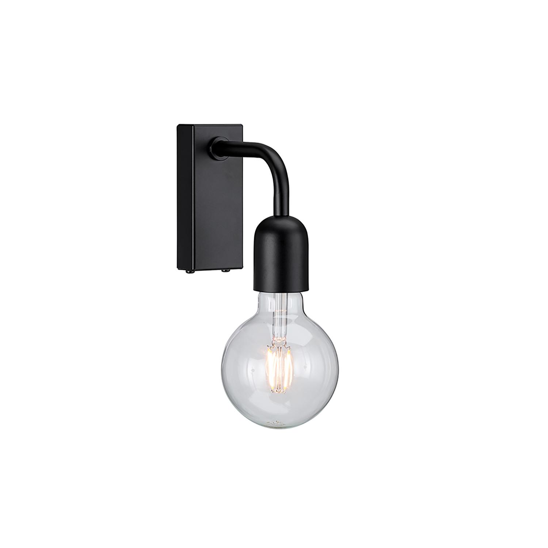 Regal Vägglampa, Mattsvart Belid @ RoyalDesign.se