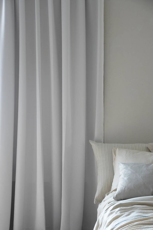 Mörkläggande Hotellgardin 290x250 cm, Pärlvit