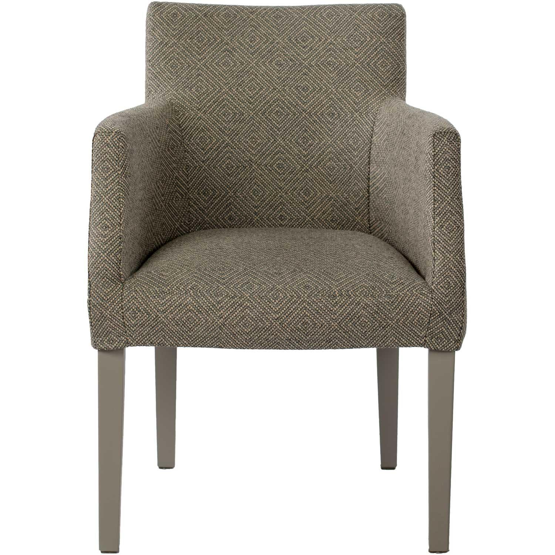 Englesson-Brooklyn Chair Loose Cover, Grey / Westray Noir 24