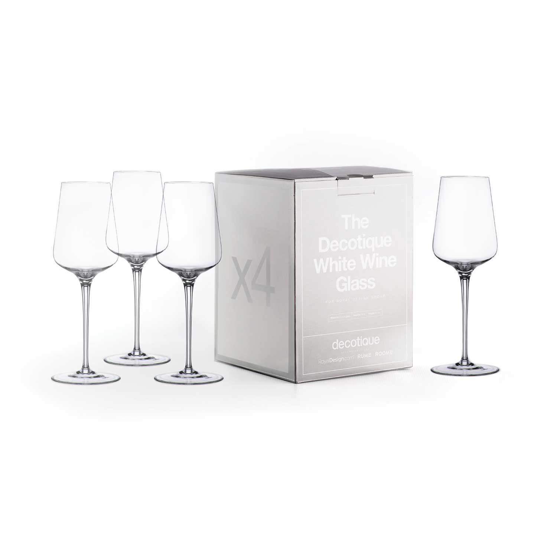 Decotique Vitvinsglas 4-Pack