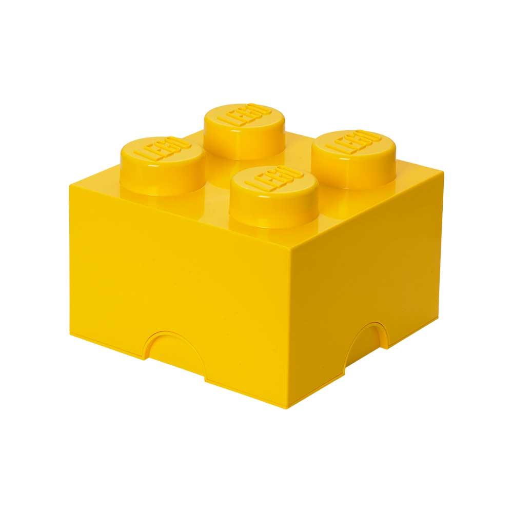 Lego Förvaringslåda 4, Gul