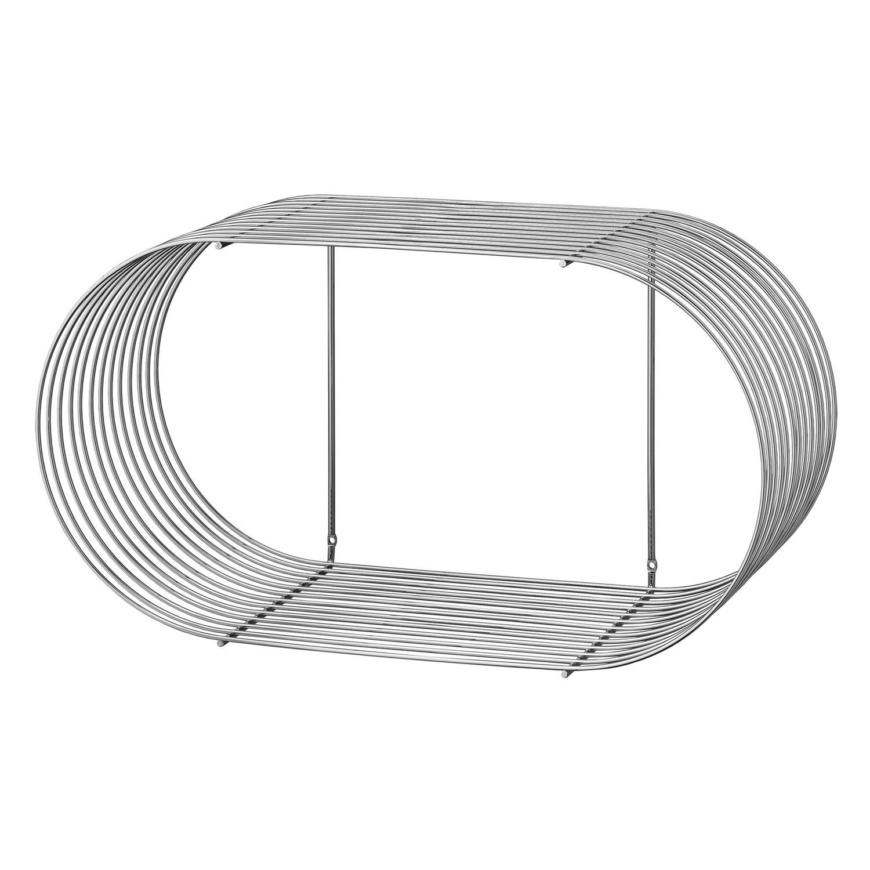 AYTM-Curva Hylde Stor 61,4 x 33 cm, Sølv