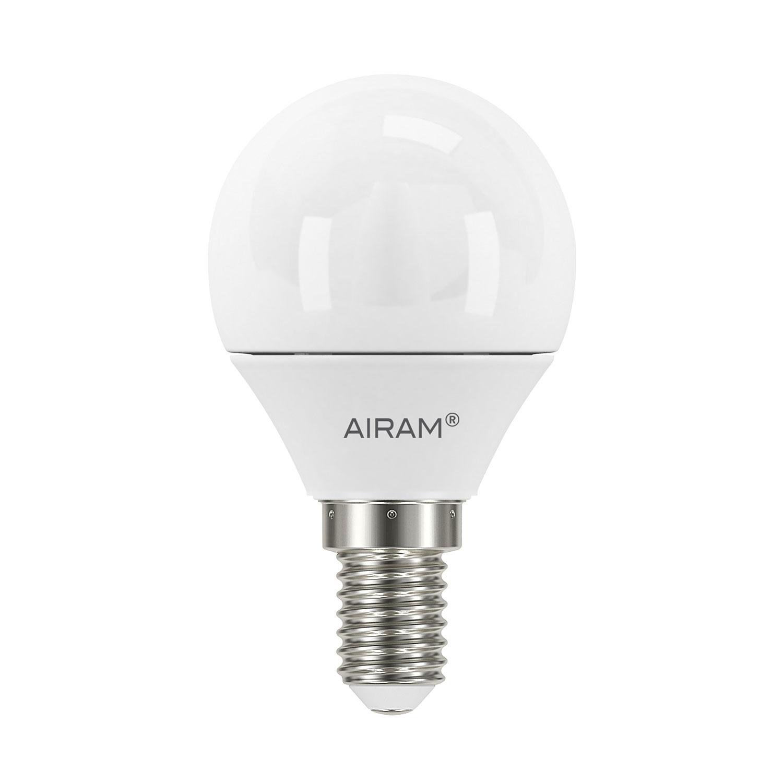 Bilde av Airam-LED Rund Lyspære P45 E14 3,5W, 2-pk.