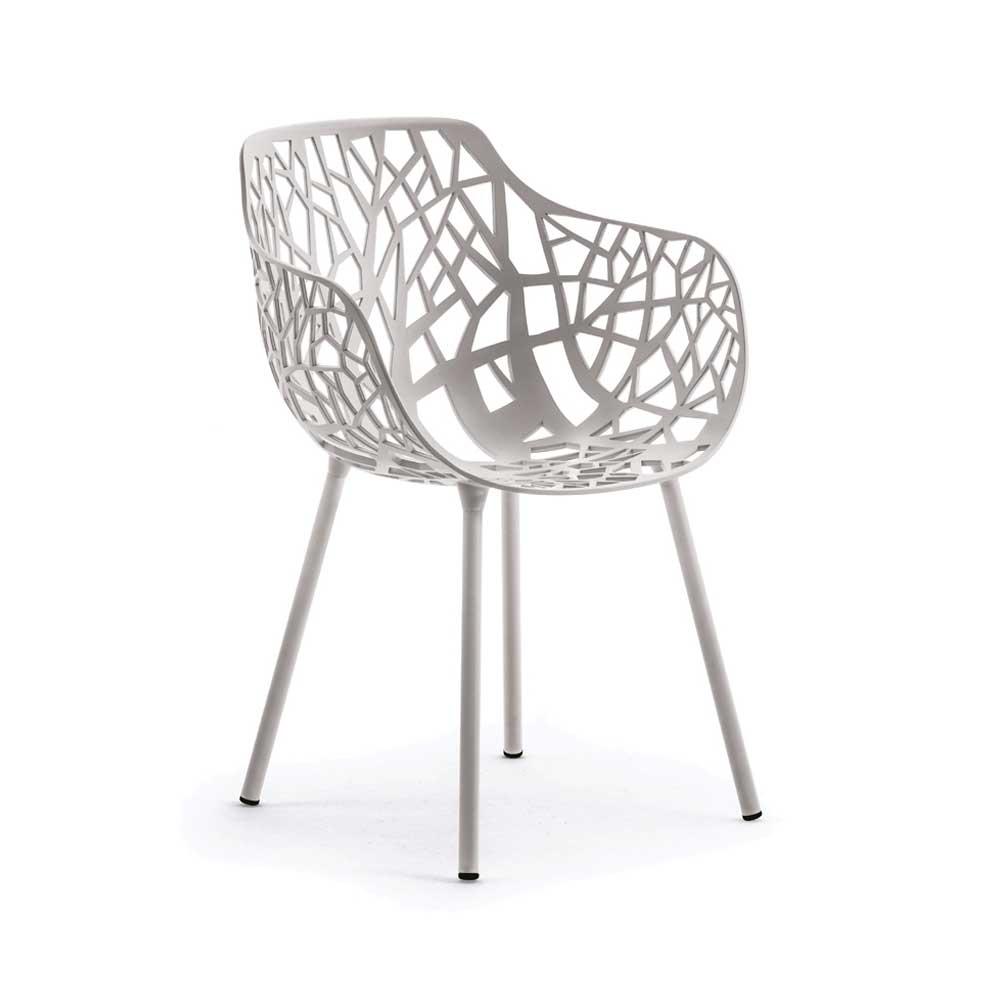 Forest Käsinojallinen tuoli, Powder Grey, Fast