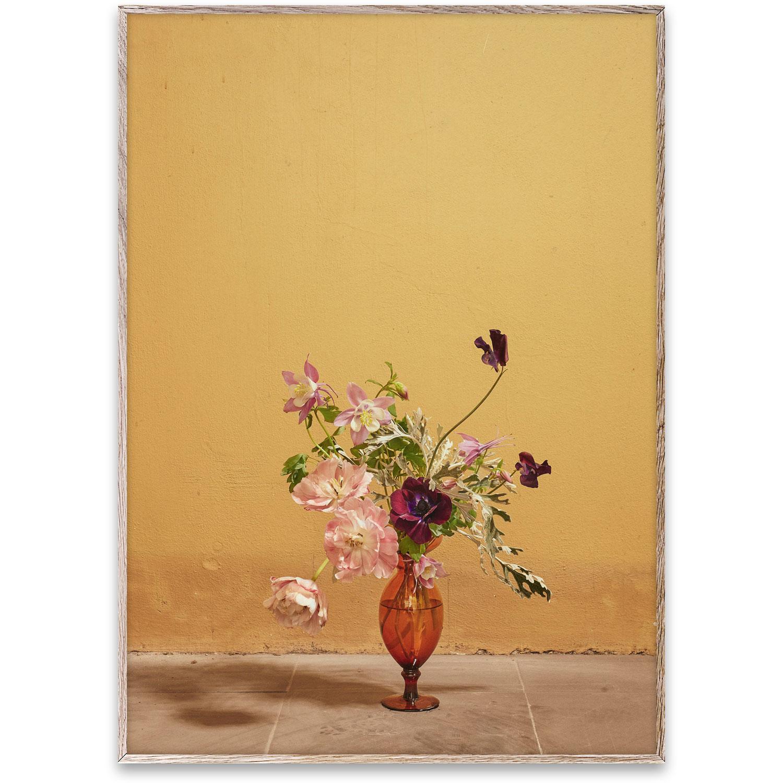 Blomst 02 Ochre Juliste 30×40 cm