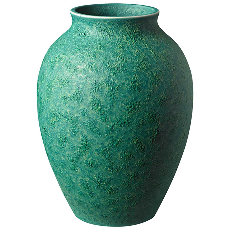 Knabstrup Vas 12,5 cm, Grön