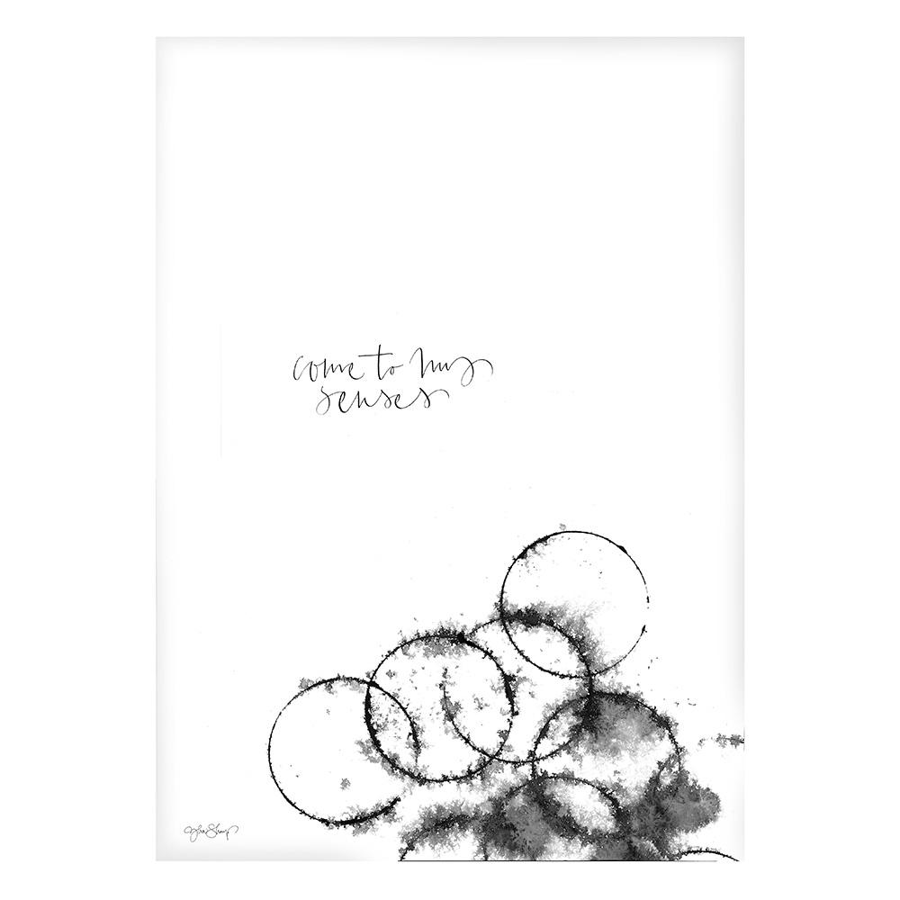 Bilde av Ylva Skarp-Come To My Senses Poster 50x70 cm