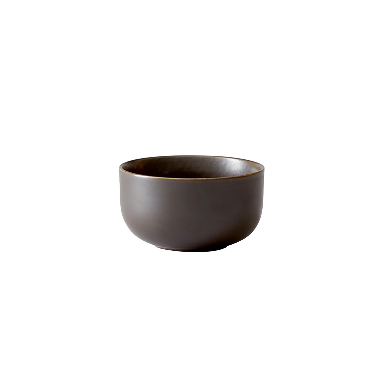 Menu-New Norm Skål 10 Cm, Dark Glazed