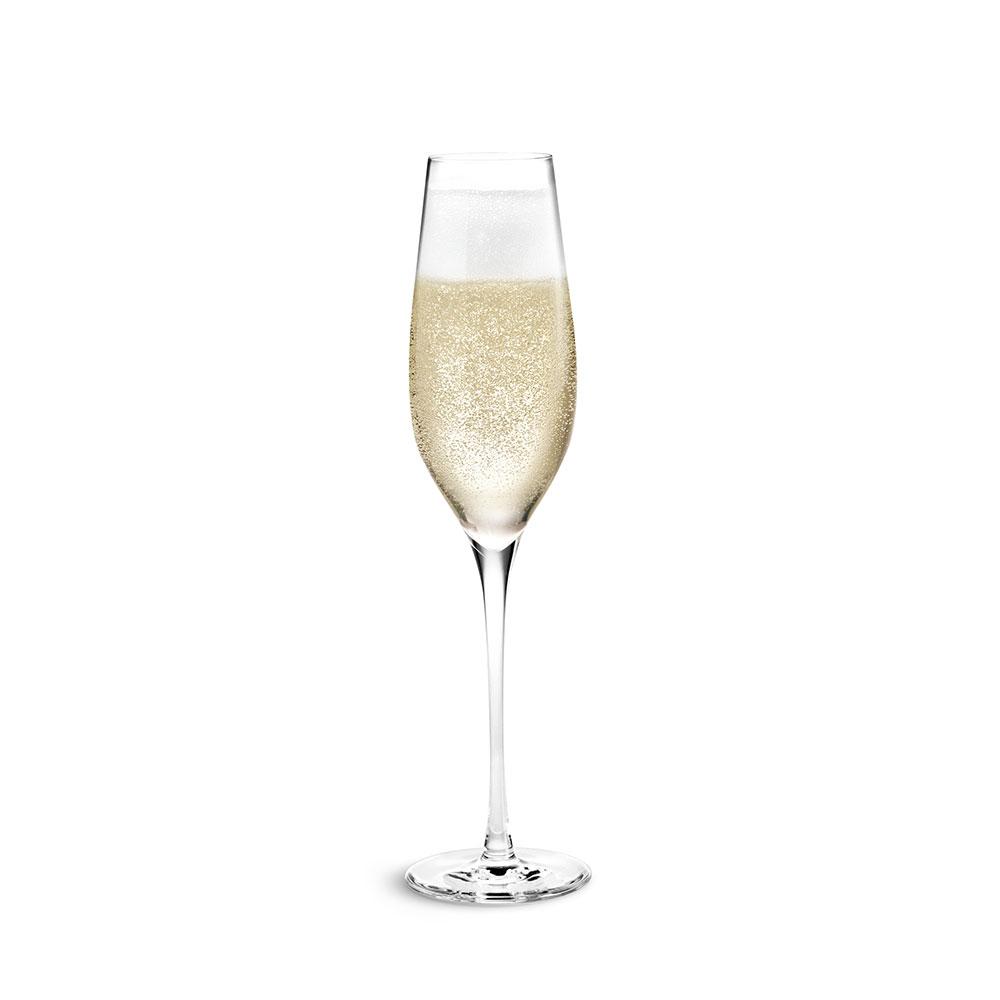 Holmegaard-Cabernet Champagneglas 29 cl