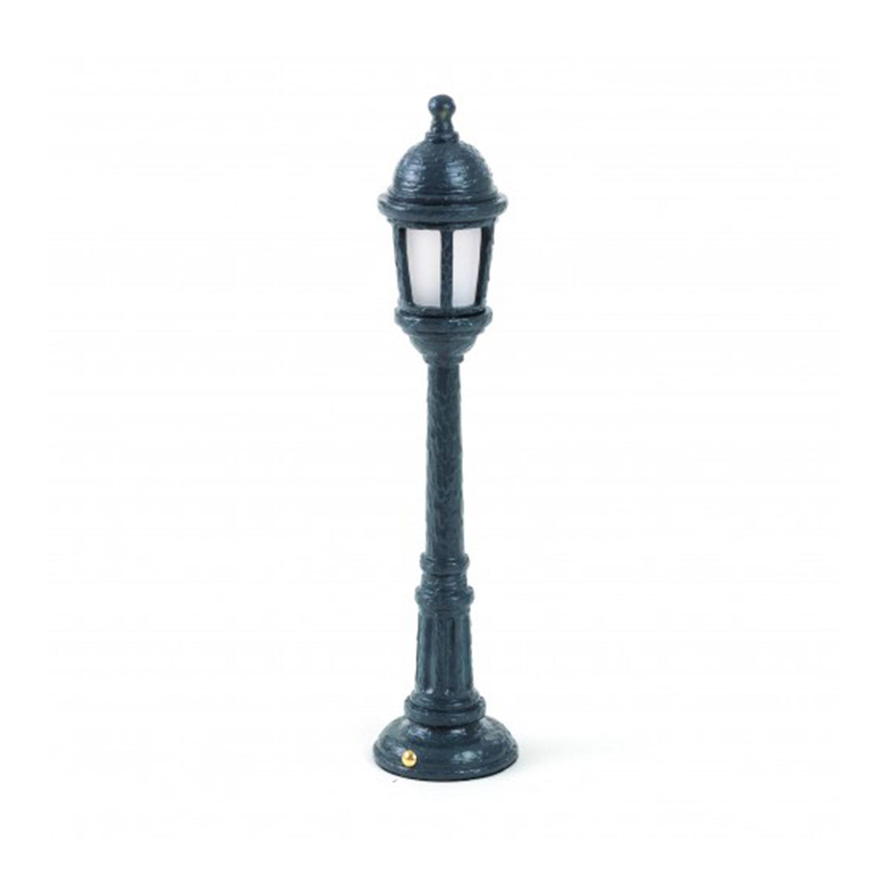 Street Lamp Dining Bordslampa i Resin, Grå