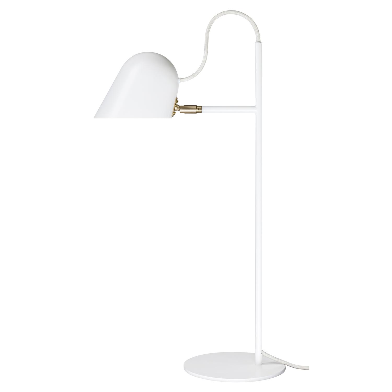 Bilde av Örsjö Belysning-Streck Bordlampe LED, Hvit/Messing