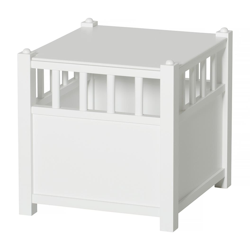 Seaside Cube Förvaringslåda, Vit